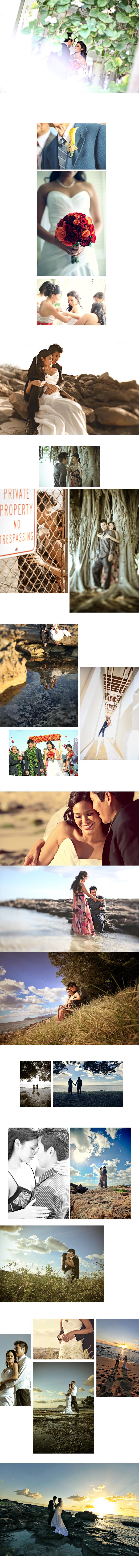 Shawn Starr : Modern Wedding Photography : Pittsburgh Wedding Photographer : Halekulani